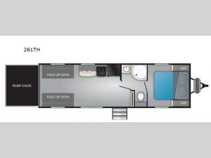 Prowler 261TH Floorplan Image