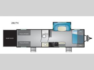 Prowler 281TH Floorplan Image
