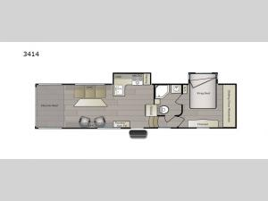 Powerlite 3414 Floorplan Image