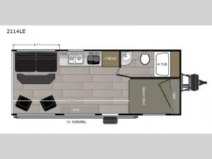 Powerlite 2114LE Floorplan Image