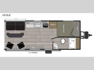Powerlite 1915LE Floorplan Image
