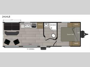 Powerlite 2414LE Floorplan Image