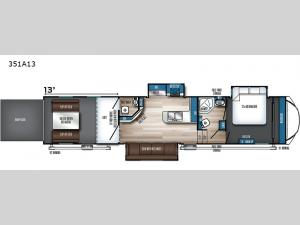 Vengeance Rogue Armored 351A13 Floorplan Image