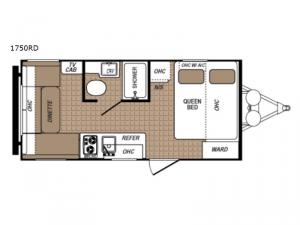 Aspen Trail 1750RD Floorplan Image