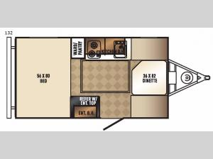 Real-Lite Mini 132 Floorplan Image