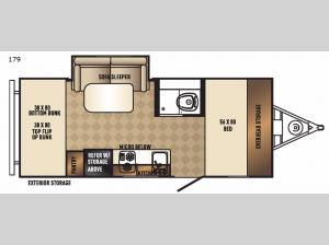 Real-Lite Mini 179 Floorplan Image