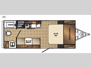 Real-Lite Mini 180 Floorplan Image