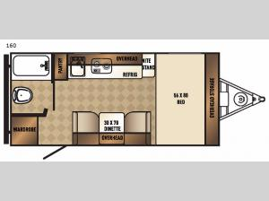 Real-Lite Mini 160 Floorplan Image