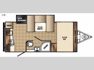 Real-Lite Mini 178 Floorplan Image