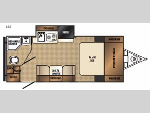 Real-Lite Mini 182 Floorplan Image