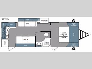Surveyor 264RKS Floorplan Image
