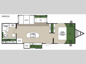Surveyor 285IKDS Floorplan Image
