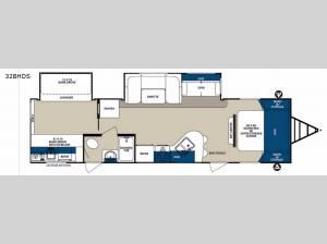 Surveyor 32BHDS Floorplan Image