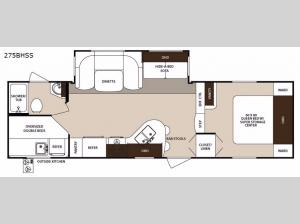 Surveyor 275BHSS Floorplan Image