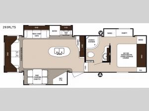 Surveyor 293RLTS Floorplan Image
