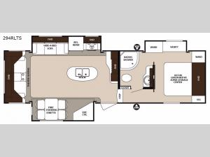 Surveyor 294RLTS Floorplan Image