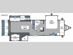 Surveyor 32KRLTS Floorplan Image