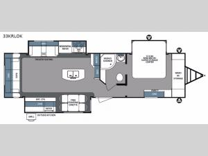 Surveyor 33KRLOK Floorplan Image