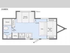Micro Minnie 2108DS Floorplan Image