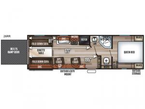 Patriot Edition 26RR Floorplan Image