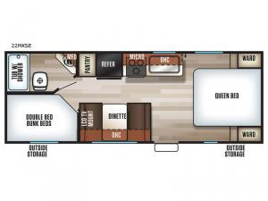 Patriot Edition 22MKSE Floorplan Image
