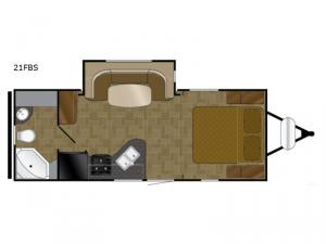 North Trail 21FBS Floorplan Image