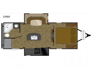 North Trail 23RBS Floorplan Image