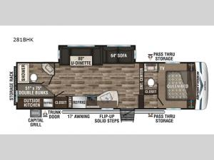 Sportsmen 281BHK Floorplan Image
