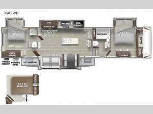 Sanibel 3602WB Floorplan Image