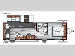 Salem 27RLSS Floorplan Image