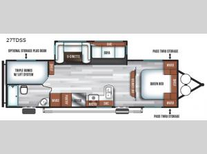 Salem 27TDSS Floorplan Image