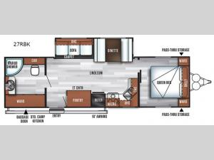 Salem 27RBK Floorplan Image