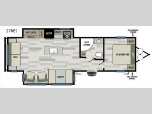 Salem 27REI Floorplan Image