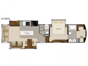 Elite Suites 39 DBRS3 Floorplan Image