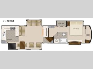 Elite Suites 41 RKSB4 Floorplan Image