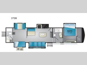 Bighorn Traveler 37DB Floorplan Image