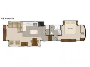 Mobile Suites 44 Memphis Floorplan Image