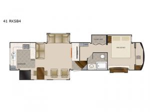 Mobile Suites 41 RKSB4 Floorplan Image
