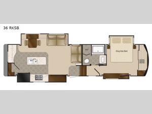 Mobile Suites 36 RKSB Floorplan Image