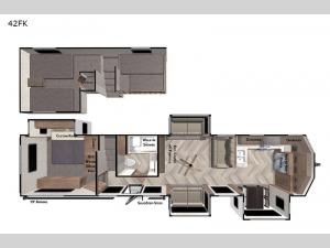 Salem Grand Villa 42FK Floorplan Image