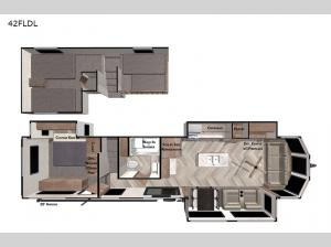Salem Grand Villa 42FLDL Floorplan Image