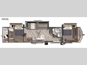 Salem Villa Series 4002Q Floorplan Image