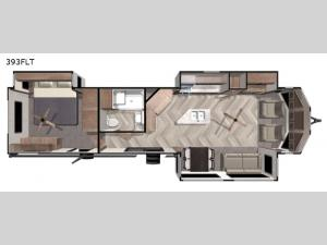 Salem Villa Series 393FLT Floorplan Image