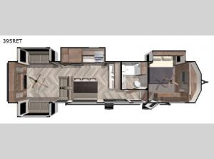 Salem Villa Series 395RET Floorplan Image
