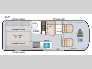 Tellaro 20AT Floorplan Image