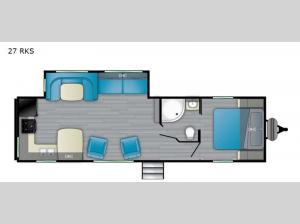Trail Runner 27 RKS Floorplan Image