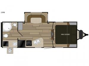 Radiance Ultra Lite 23RB Floorplan Image