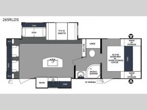 Surveyor 265RLDS Floorplan Image
