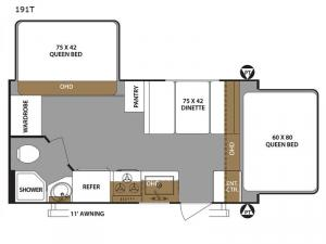 Surveyor 191T Floorplan Image