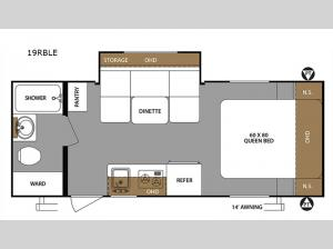 Surveyor 19RBLE Floorplan Image
